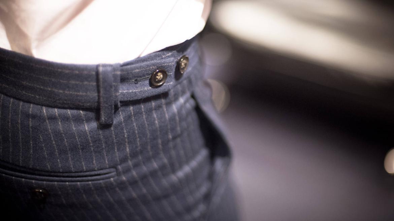 patte serrage pantalon costume