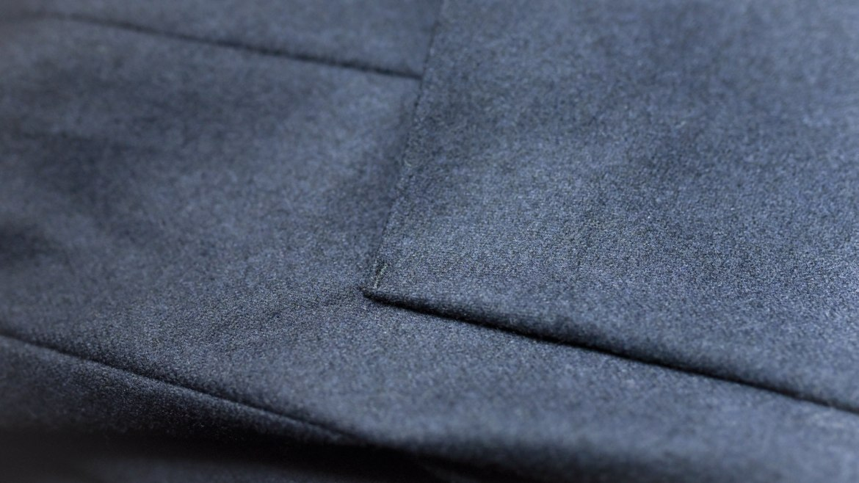 point de renfort poche costume