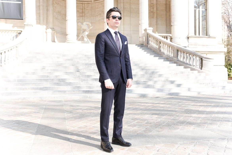 look costume homme style bureau