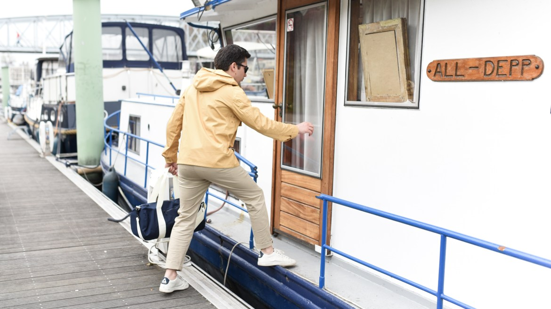 look marin bateau homme