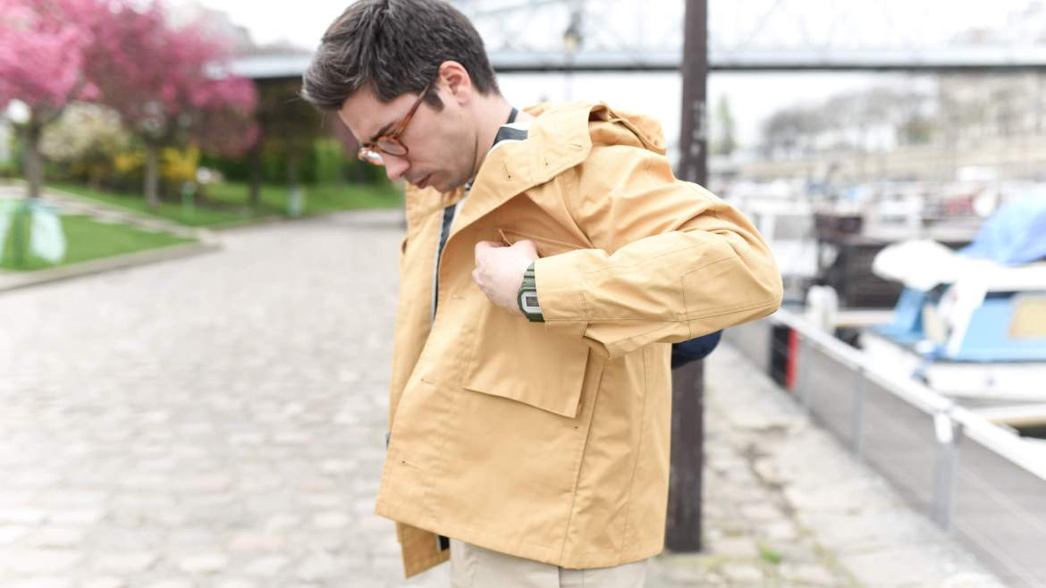 look parka homme