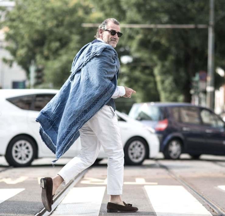 choisir pantalon blanc homme