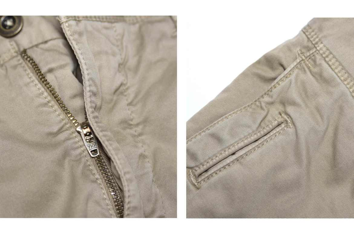 details chino qualite homme