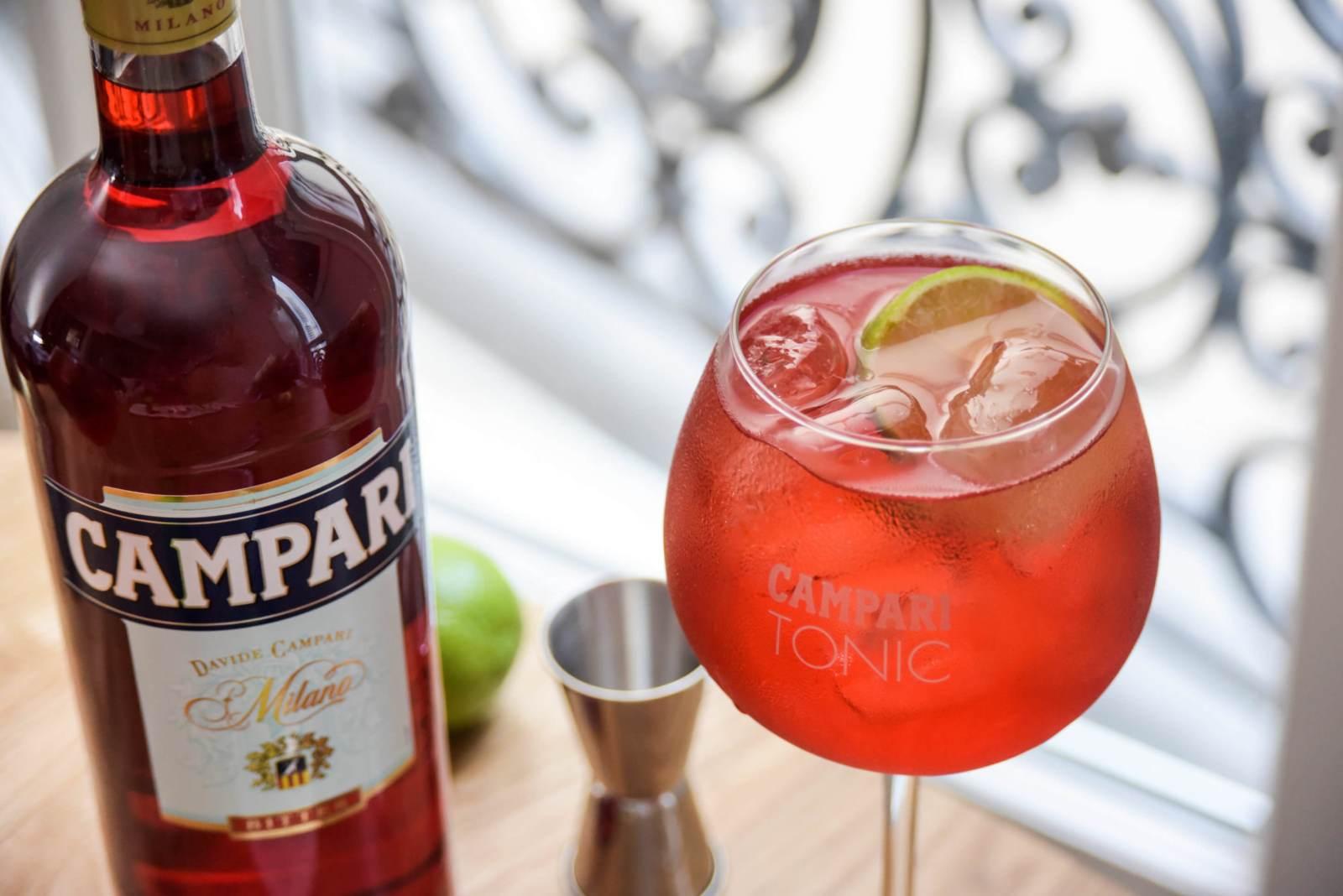 recette Campari Tonic cocktail