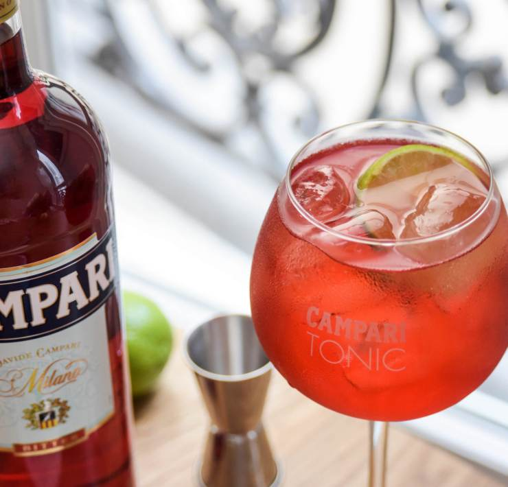 recette Campari Tonic cocktail