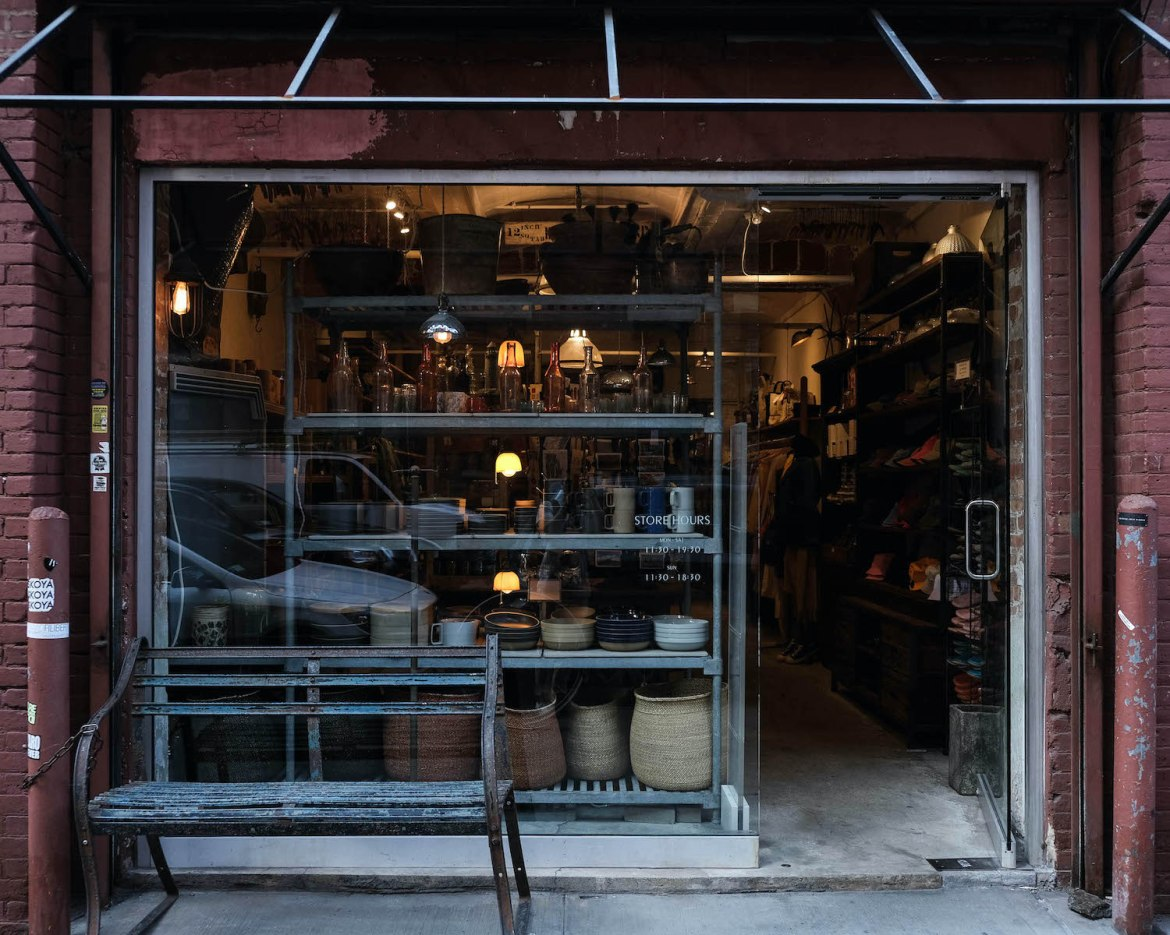 Front General Store boutique New York Brooklyn Dumbo