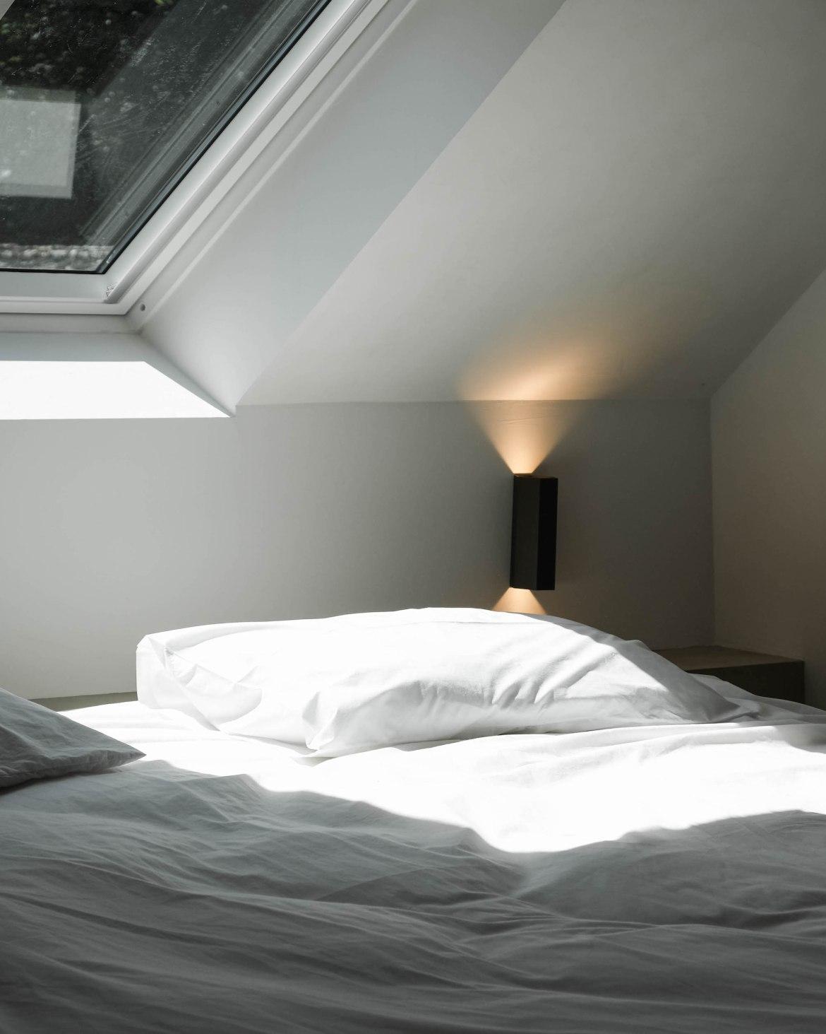 draps de lit coton blanc