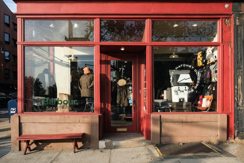 hatchet outdoor supply company boutique brooklyn