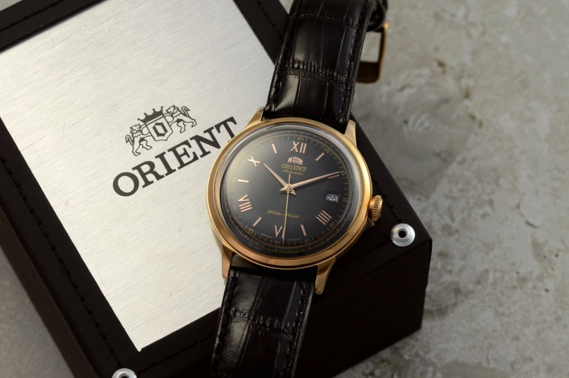 orient bambino noire or rose