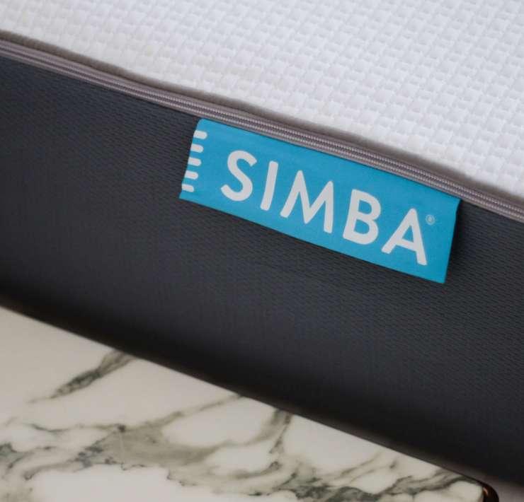 etiquette matelas simba