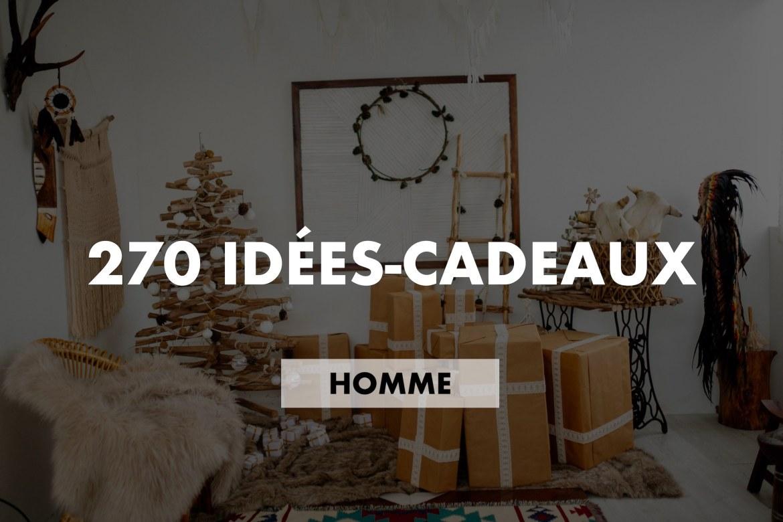 Idées cadeaux Noël homme 2018