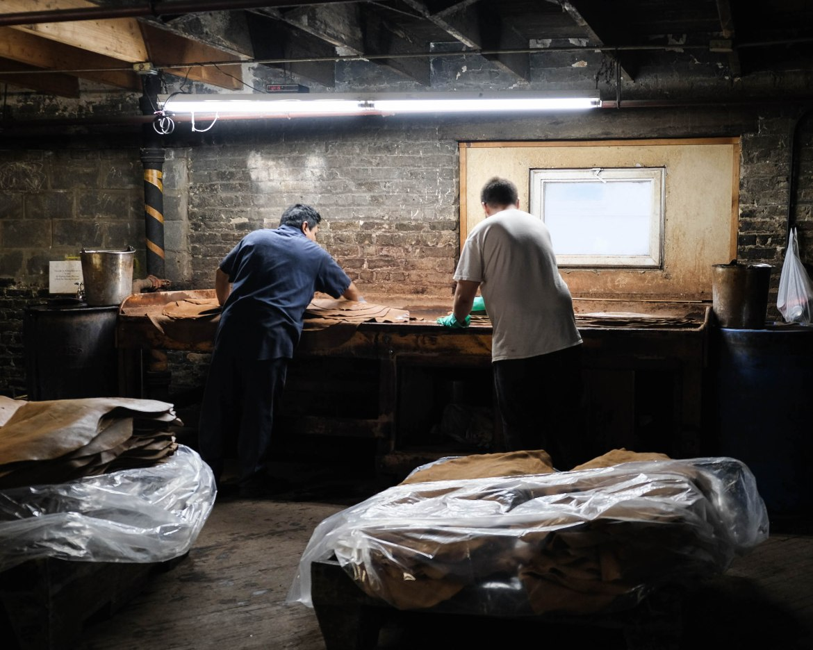 Fabrication Cordovan Tannerie Horween