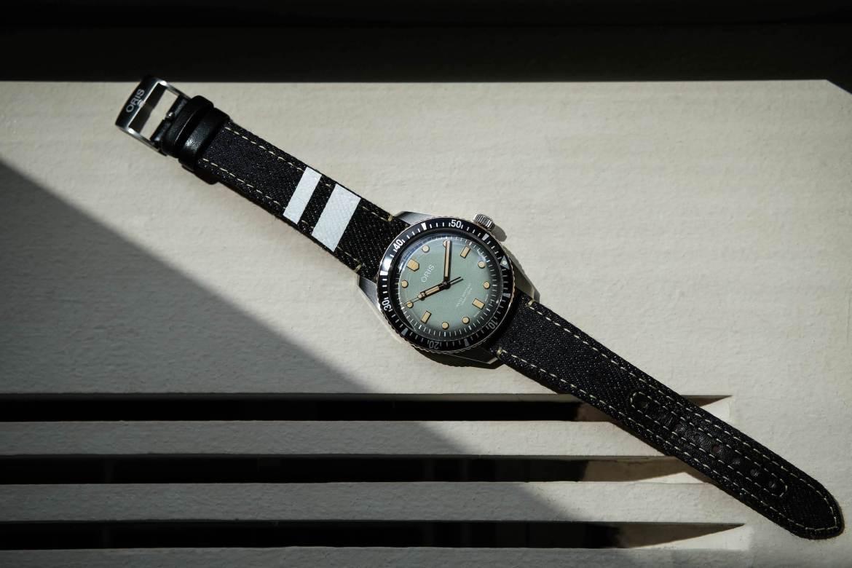 Montre Collaboration Oris Momotaro avec bracelet