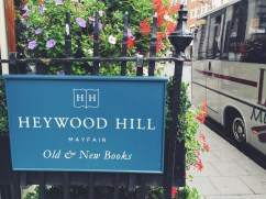 Heywood Hill of Mayfair, Old and New Books