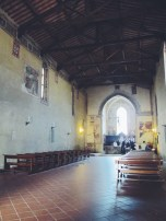 A church in Pienza.