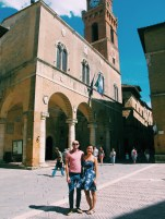 """In Pienza, the """"Ideal City."""""""