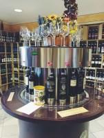 Some hi-tech wine dispensers.