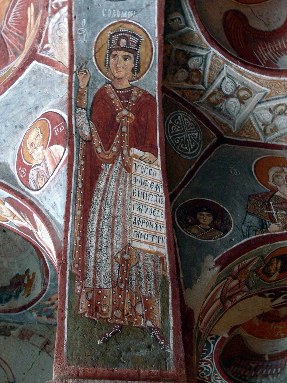 Τοιχογραφία. Βυζαντινή τοιχογραφία XI αιώνα