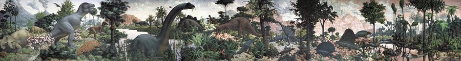"""Τοιχογραφία. Rudolf Zublinger. """"The Epoph Reptile"""", 1947"""