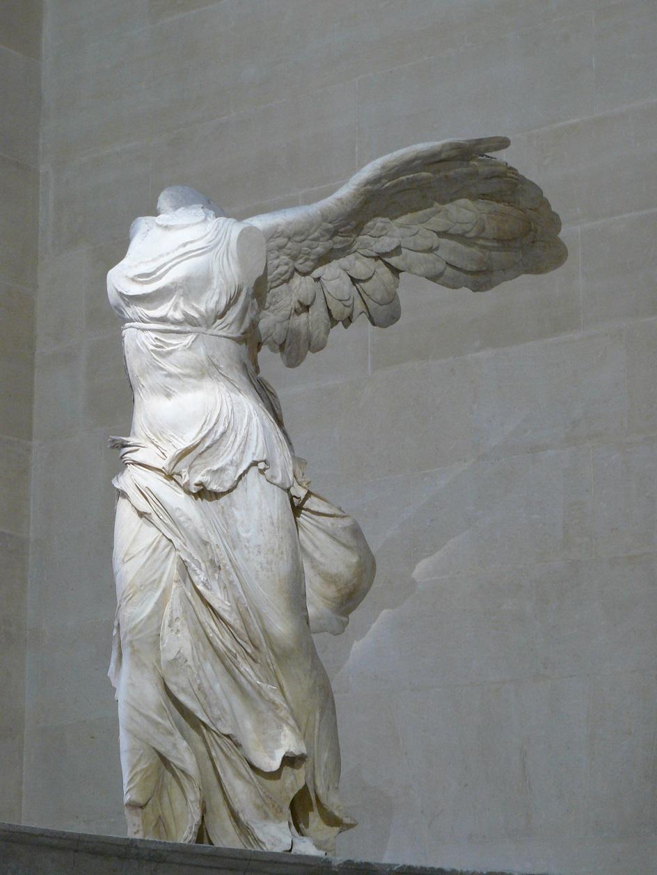 "Escultura. Pyphocrit. Escultura ""Nika Samofarakaya"", II Século aC"