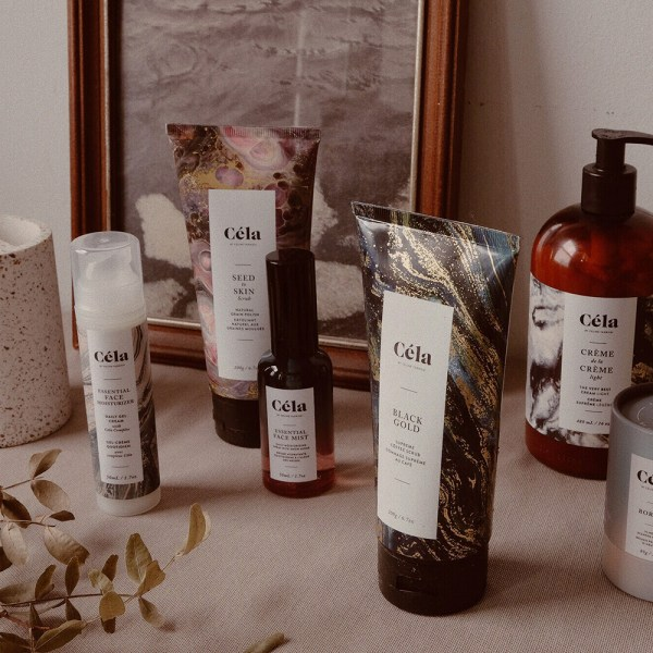 Canadian skincare brand Céla, founded by Celine Tadrissi, owner of Hammam Spa in Toronto.