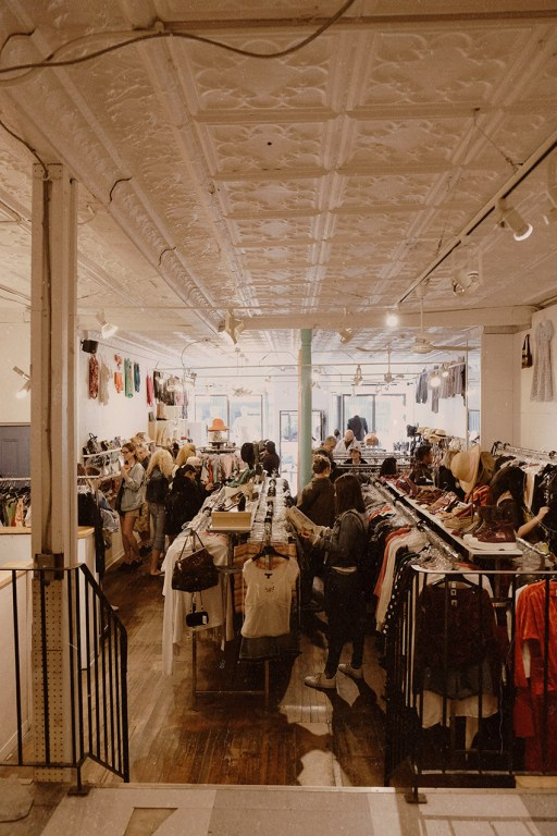 Vintage boutique Common Sort in East Toronto