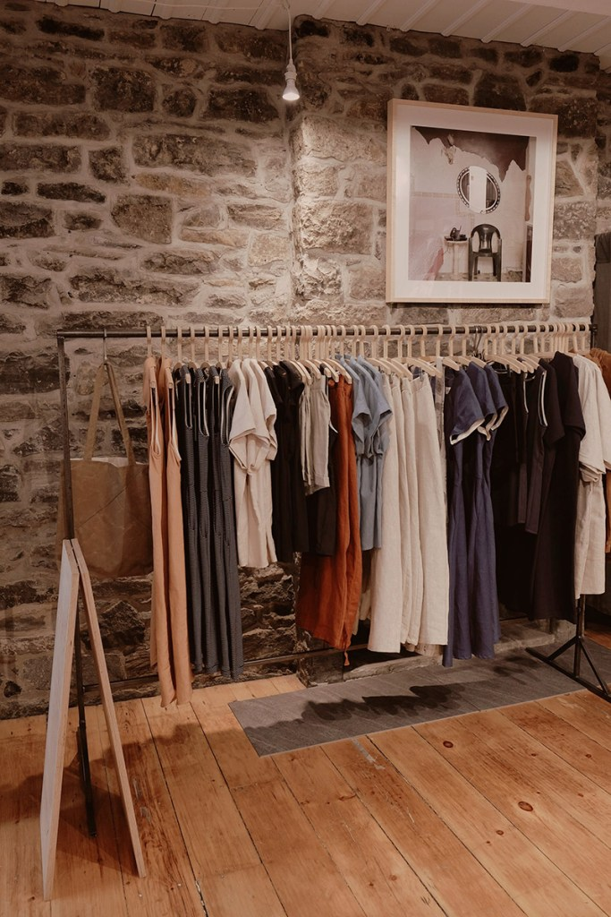 New Atelier B boutique in Old Montreal