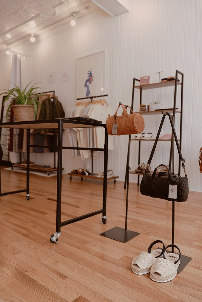 Ethical store Murri on Le Plateau in Montreal