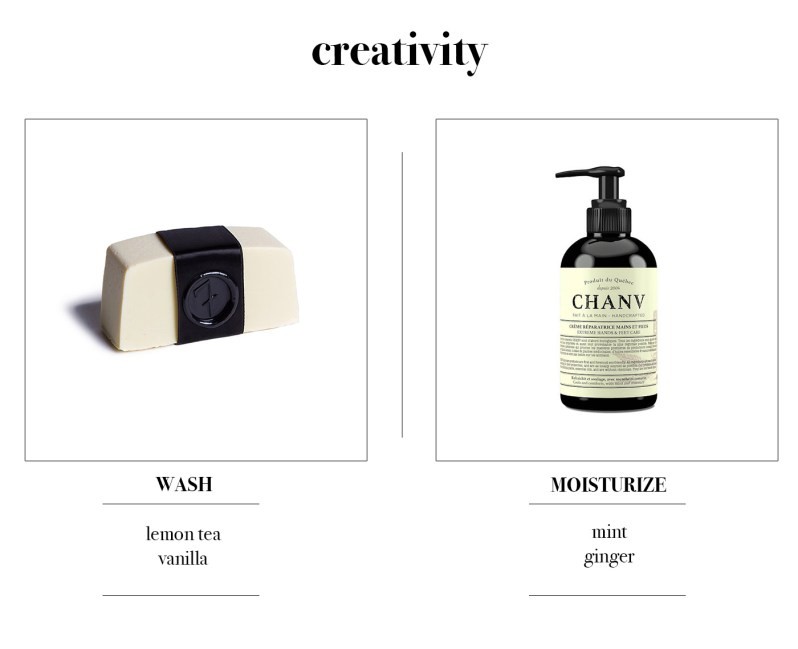 Hand soap and hand cream good for creativity by 7 Deadly Soaps and Chanv