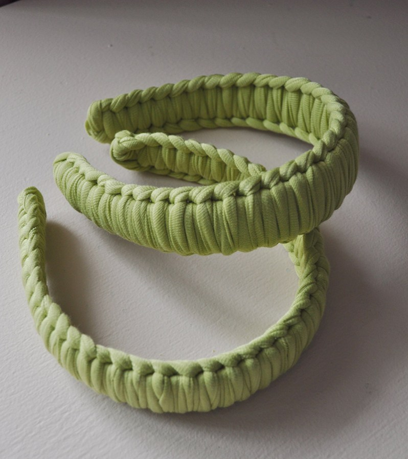 Heirloom headband made in Quebec