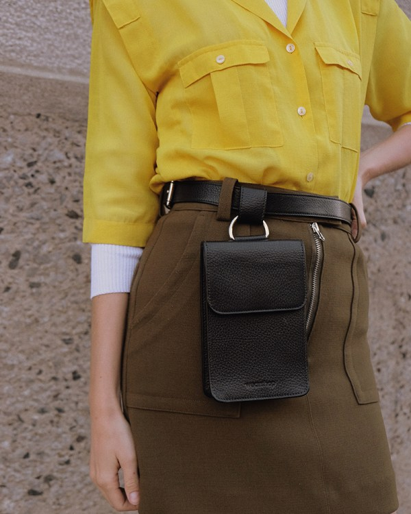 Pitti waist bag by ethical leather handbag company Wearshop