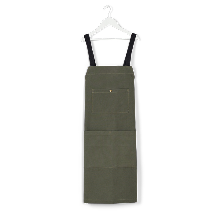 Cotton apron by Caravel