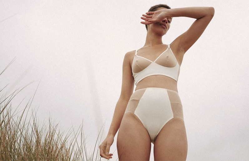 Sustainable underwear by Toronto brand Fortnight.