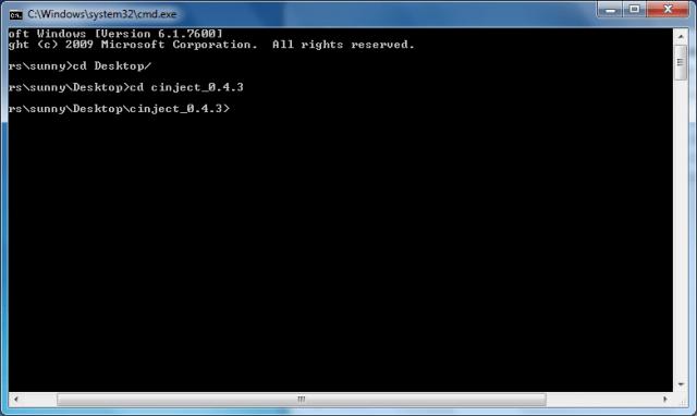 windows CD command
