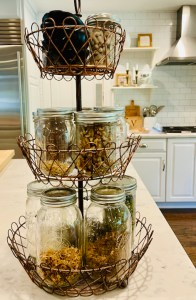 Make a healthy snack station