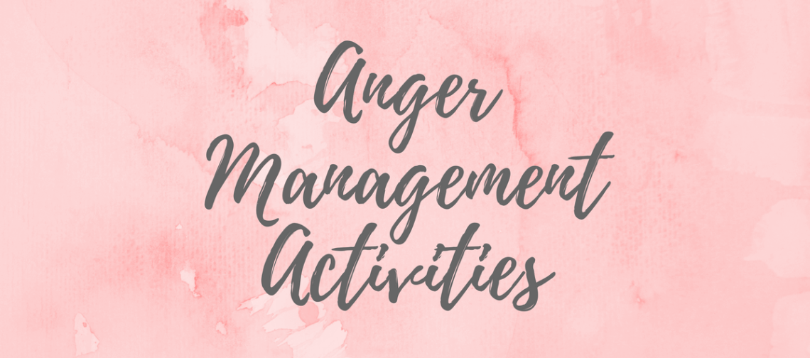 Anger Management Activities for Kids Banner
