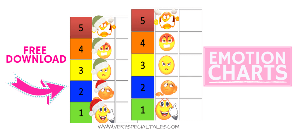 EMOTIONS CHART DOWNLOAD your FREE Feelings Thermometer