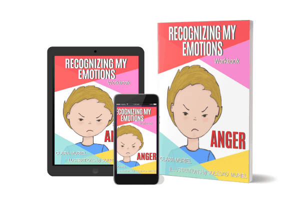 Identifying my Emotions Anger Workbook Product Display opt