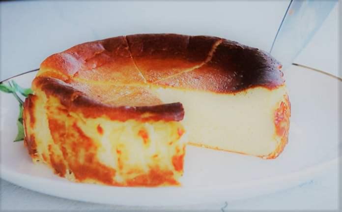 Баскский жженый чизкейк