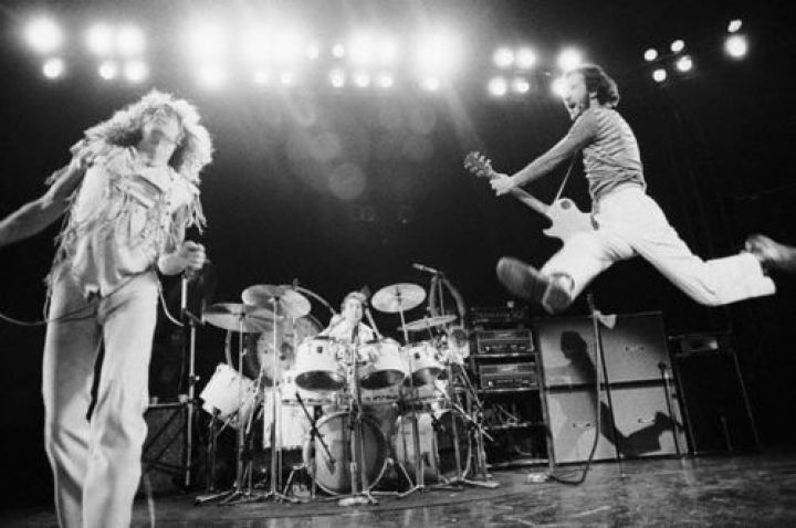 The Who Performing in Concert