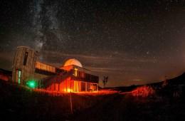 İskoçya'da bir yıldız gözlemevi.