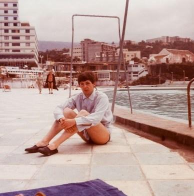 Paul McCartney. Tenerife, Nisan 1963.