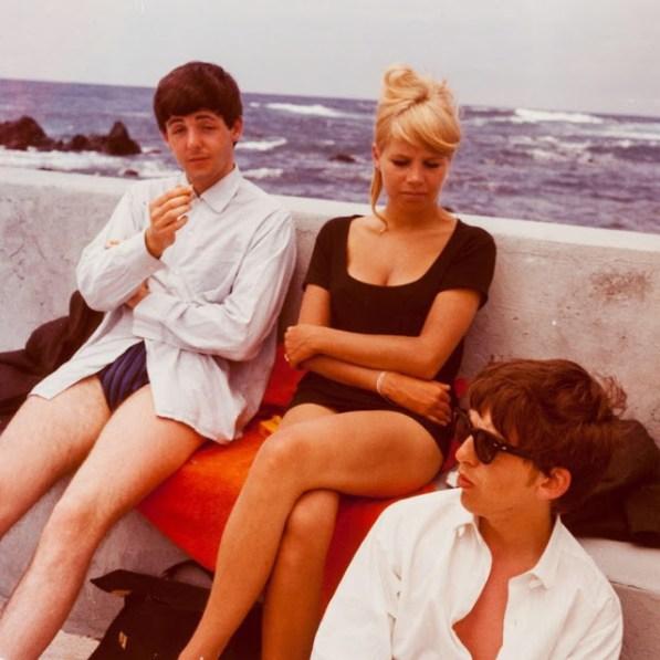 The Beatles. Tenerife, 1963.