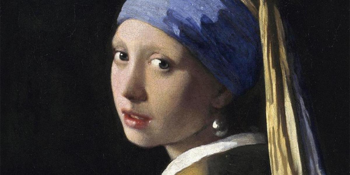 """""""İnci Küpeli Kız"""", Johannes Vermeer, 1665."""