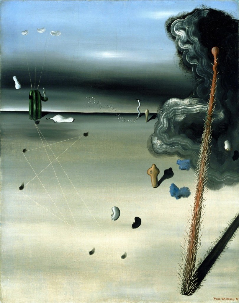 """Mama, Papa is Wounded!"" (Yves Tanguy, 1927)"