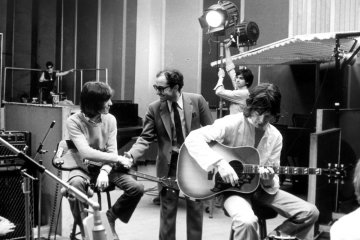 Jean-Luc Godard & The Rolling Stones. Fotoğraf: Cupid Productions