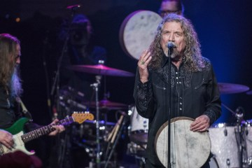 Robert Plant and the Sensational Space Shifters (Fotoğraf: David Brendan Hall, 2016)