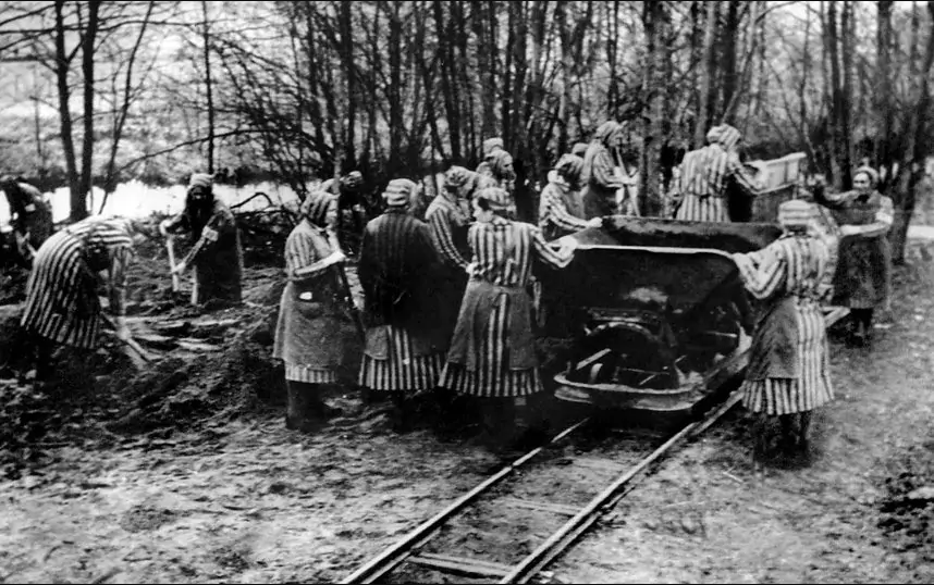 Ravensbrück Toplama Kampı. Fotoğraf: AFP / Getty Images
