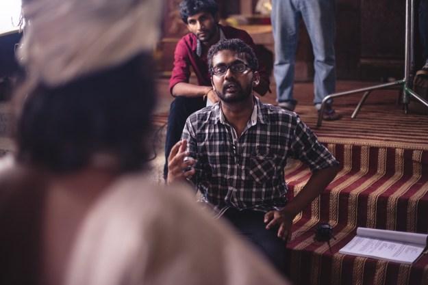 Chathra Weeraman directing Aloko Udapadi