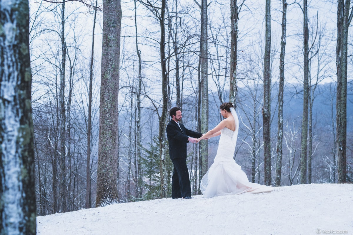 Country Winter Wedding